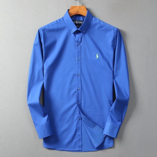 Ralph Lauren Polo Shirts Long Sleeved Polo For Men #822464