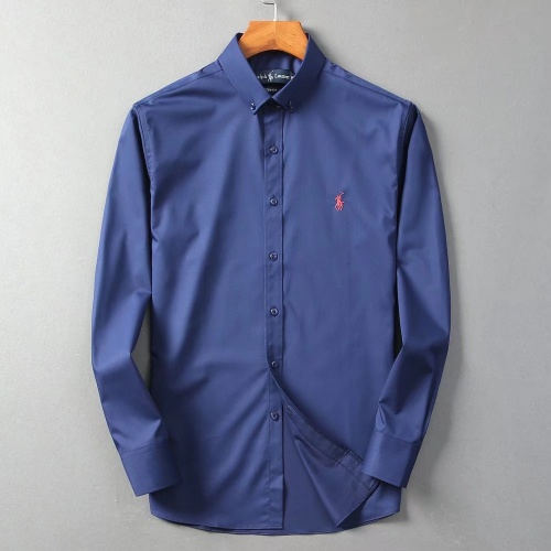 Ralph Lauren Polo Shirts Long Sleeved Polo For Men #822465