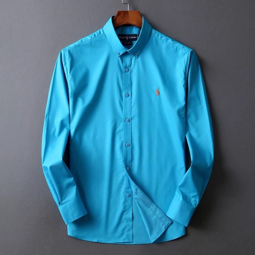 Ralph Lauren Polo Shirts Long Sleeved Polo For Men #822466