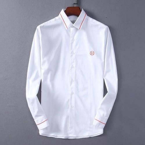 Hermes Shirts Long Sleeved Polo For Men #822472