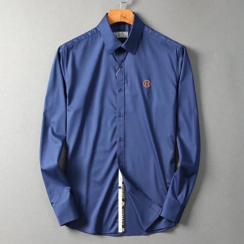 Hermes Shirts Long Sleeved Polo For Men #822473