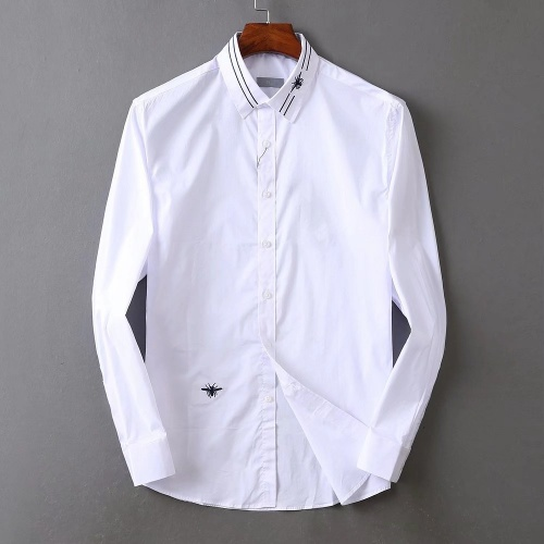 Christian Dior Shirts Long Sleeved Polo For Men #822481