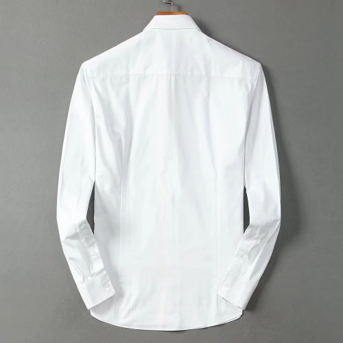 Replica Christian Dior Shirts Long Sleeved Polo For Men #822482 $42.00 USD for Wholesale