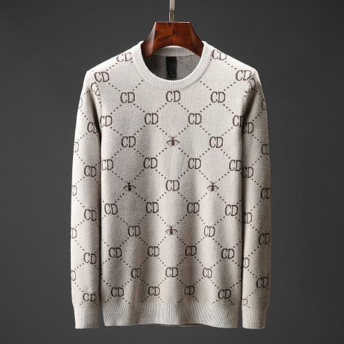 Christian Dior Sweaters Long Sleeved O-Neck For Men #822499