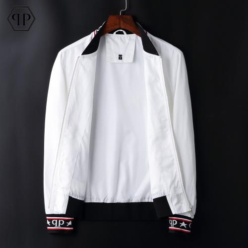 Replica Philipp Plein PP Jackets Long Sleeved Zipper For Men #822569 $72.00 USD for Wholesale