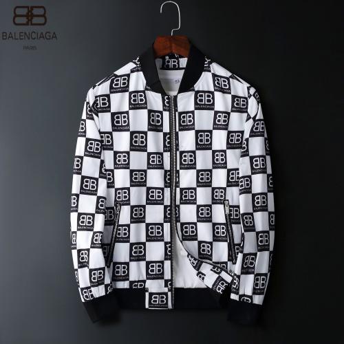 Balenciaga Jackets Long Sleeved Zipper For Men #822571