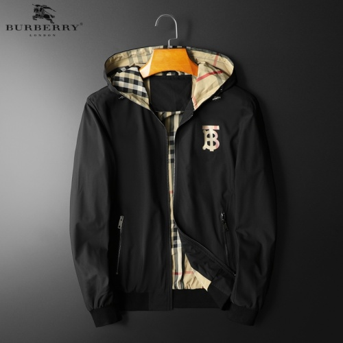 Burberry Jackets Long Sleeved Hat For Men #822580