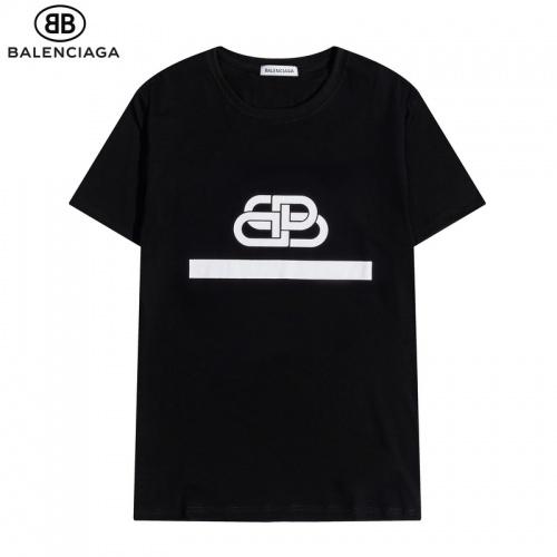 Balenciaga T-Shirts Short Sleeved O-Neck For Men #822609