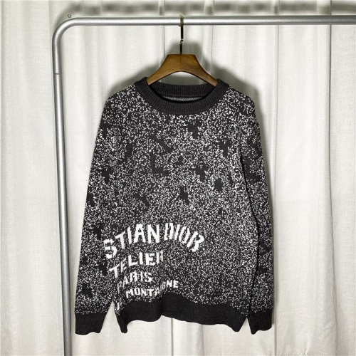 Christian Dior Sweaters Long Sleeved O-Neck For Men #822663