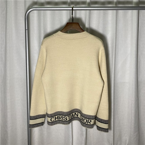 Christian Dior Sweaters Long Sleeved O-Neck For Men #822664