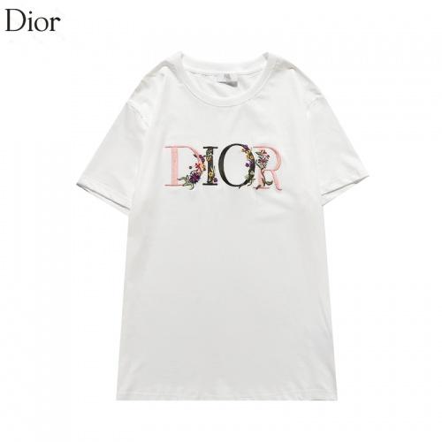 Christian Dior T-Shirts Short Sleeved O-Neck For Men #822666