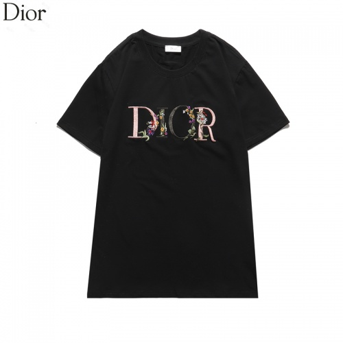 Christian Dior T-Shirts Short Sleeved O-Neck For Men #822667