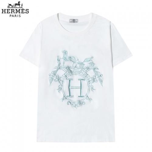 Hermes T-Shirts Short Sleeved O-Neck For Men #822848 $29.00 USD, Wholesale Replica Hermes T-Shirts