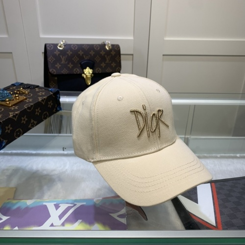 Replica Christian Dior Caps #822854 $27.00 USD for Wholesale