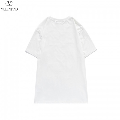 Replica Valentino T-Shirts Short Sleeved O-Neck For Men #822872 $29.00 USD for Wholesale