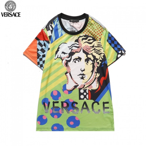 Versace T-Shirts Short Sleeved O-Neck For Men #822874 $27.00 USD, Wholesale Replica Versace T-Shirts