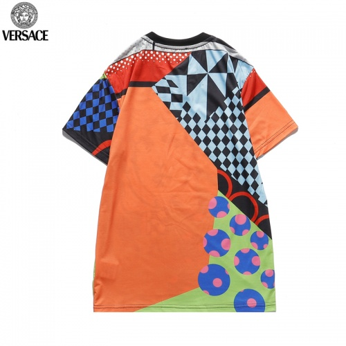 Replica Versace T-Shirts Short Sleeved O-Neck For Men #822874 $27.00 USD for Wholesale