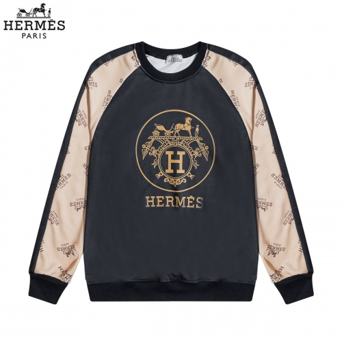 Hermes Hoodies Long Sleeved O-Neck For Men #822890