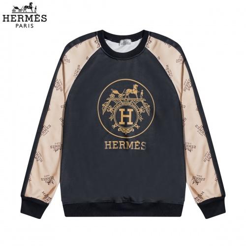 Hermes Hoodies Long Sleeved O-Neck For Men #822890 $40.00 USD, Wholesale Replica Hermes Hoodies