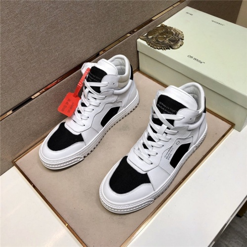 Off-White High Tops Shoes For Men #822927