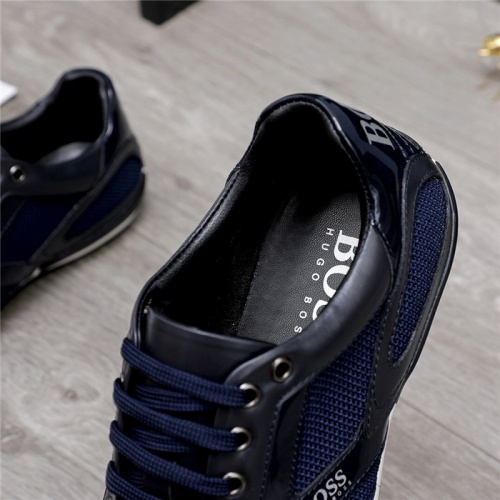Replica Boss Casual Shoes For Men #822929 $76.00 USD for Wholesale