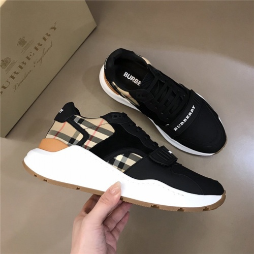 Replica Burberry Casual Shoes For Men #822962 $72.00 USD for Wholesale