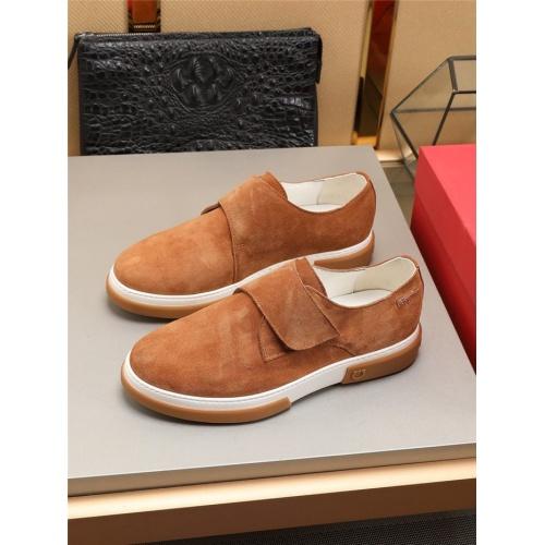 Ferragamo Salvatore FS Casual Shoes For Men #822992