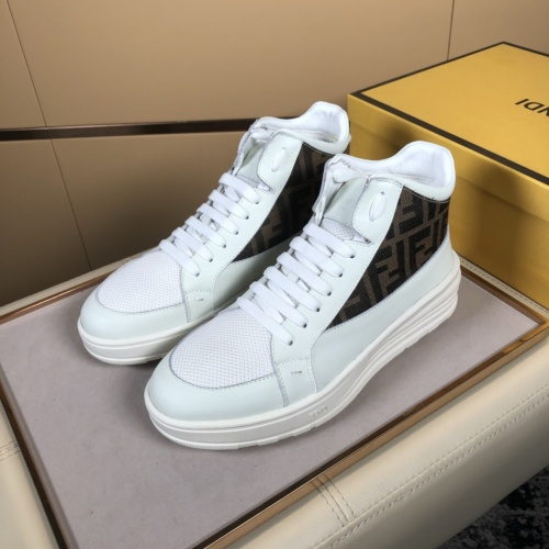 Fendi High Tops Casual Shoes For Men #823022