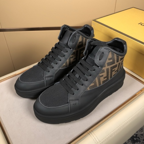Fendi High Tops Casual Shoes For Men #823023