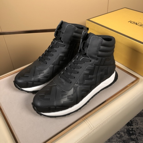 Fendi High Tops Casual Shoes For Men #823028