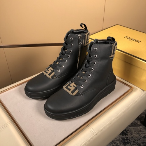 Fendi High Tops Casual Shoes For Men #823030