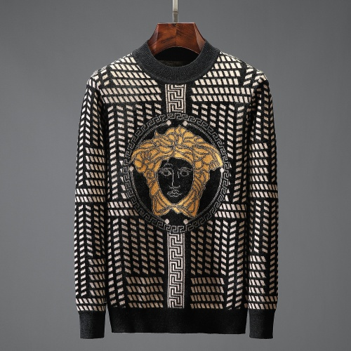 Versace Sweaters Long Sleeved O-Neck For Men #823108