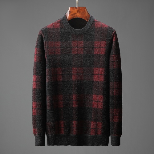 Burberry Sweaters Long Sleeved O-Neck For Men #823110