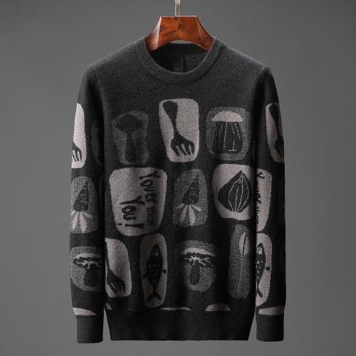 Hermes Sweaters Long Sleeved O-Neck For Men #823112
