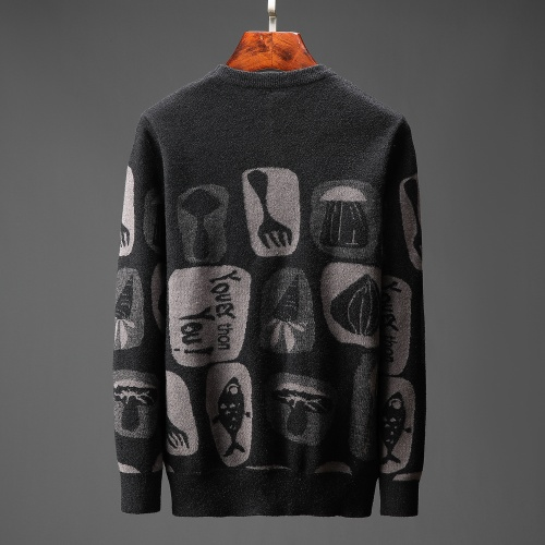 Replica Hermes Sweaters Long Sleeved O-Neck For Men #823112 $48.00 USD for Wholesale