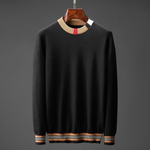 Burberry Sweaters Long Sleeved O-Neck For Men #823115