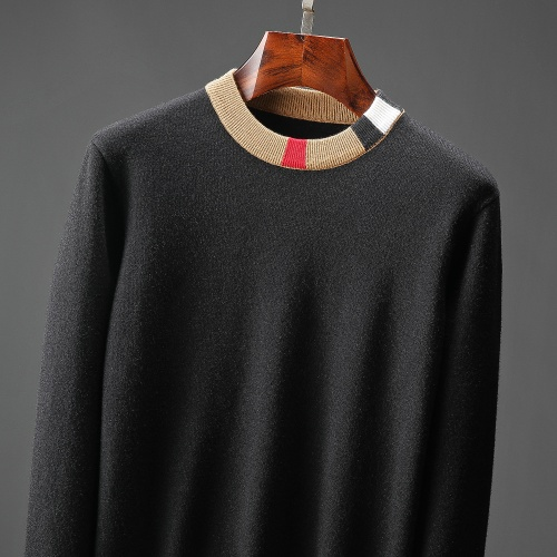 Replica Burberry Sweaters Long Sleeved O-Neck For Men #823115 $48.00 USD for Wholesale