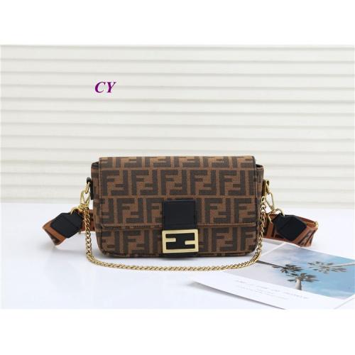 Replica Fendi Fashion Messenger Bags For Women #823211 $30.00 USD for Wholesale