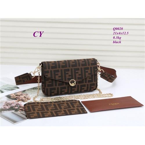Fendi Fashion Messenger Bags For Women #823212