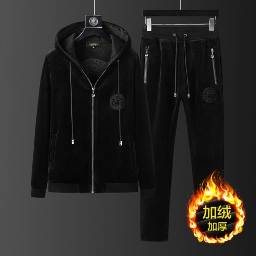 Versace Tracksuits Long Sleeved Zipper For Men #823235 $98.00 USD, Wholesale Replica Versace Tracksuits