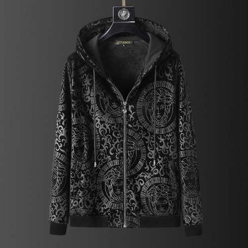 Replica Versace Tracksuits Long Sleeved O-Neck For Men #823242 $102.00 USD for Wholesale