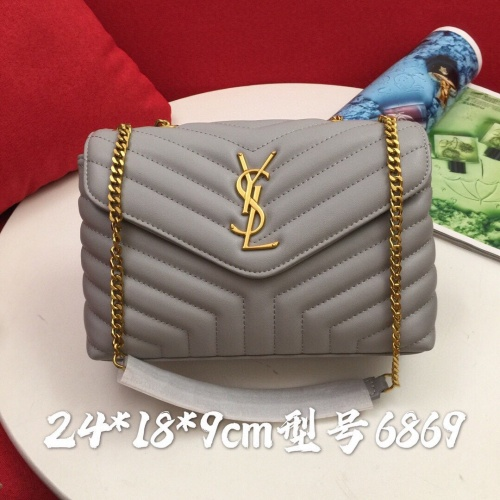 Yves Saint Laurent YSL AAA Quality Shoulder Bags For Women #823279