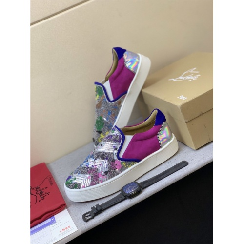 Christian Louboutin CL Casual Shoes For Men #823320 $98.00 USD, Wholesale Replica Christian Louboutin Fashion Shoes