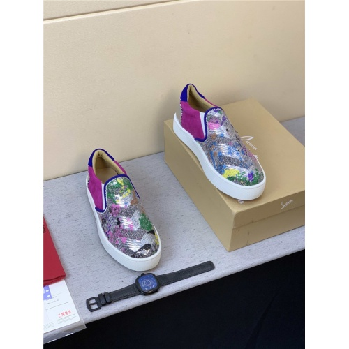 Replica Christian Louboutin CL Casual Shoes For Men #823320 $98.00 USD for Wholesale