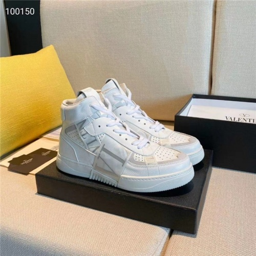Valentino High Tops Shoes For Women #823346