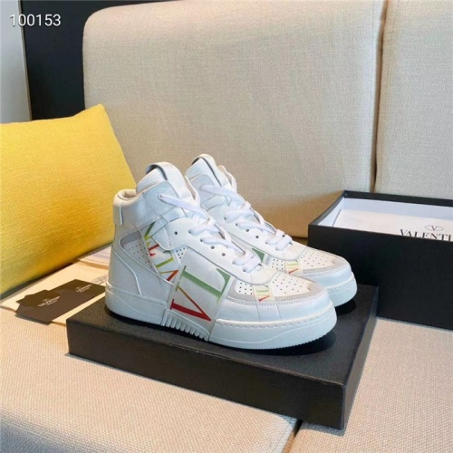 Valentino High Tops Shoes For Women #823347