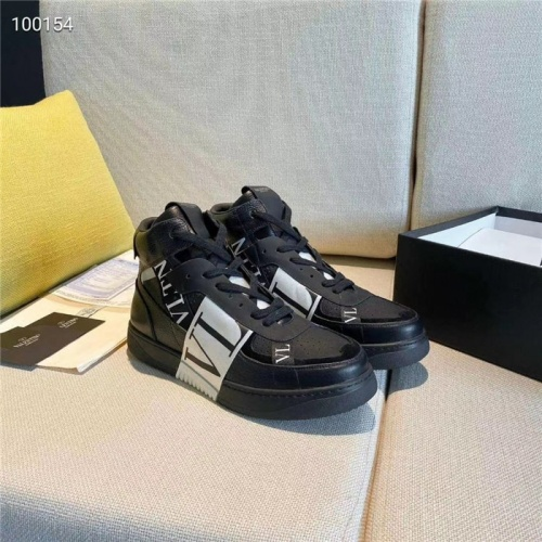 Valentino High Tops Shoes For Women #823349