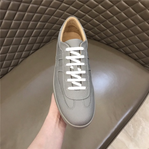 Replica Hermes Casual Shoes For Men #823416 $76.00 USD for Wholesale