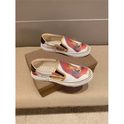 Versace Casual Shoes For Men #823419 $68.00 USD, Wholesale Replica Versace Casual Shoes