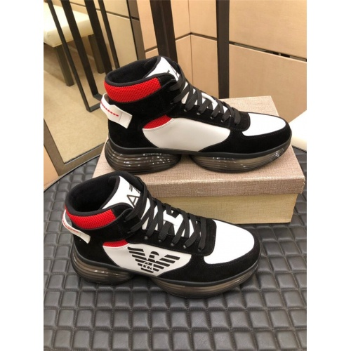 Armani High Tops Shoes For Men #823430